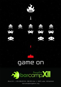 BCB12 PosterMash Entry - Space Invaders